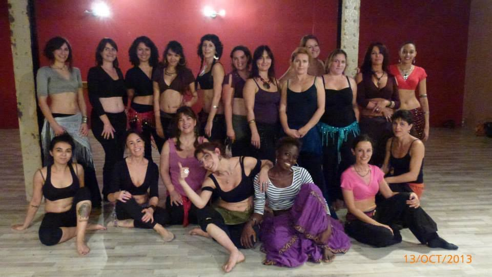 Bordeaux Rive Tribale, avec Alina, Octobre 2013.