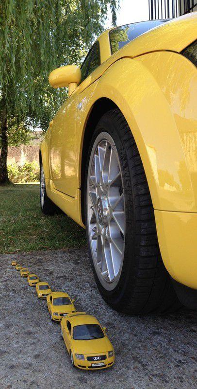 TT-L300 jaune Imola 225 CV Quattro