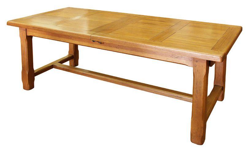 Tables de ferme en ch ne massif fabricant de tables - Fabricant meuble chene massif belgique ...