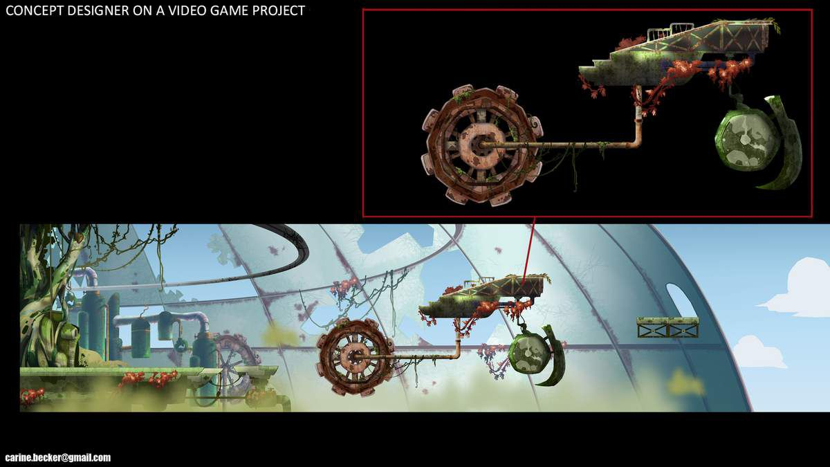 Concept designer for a video game project