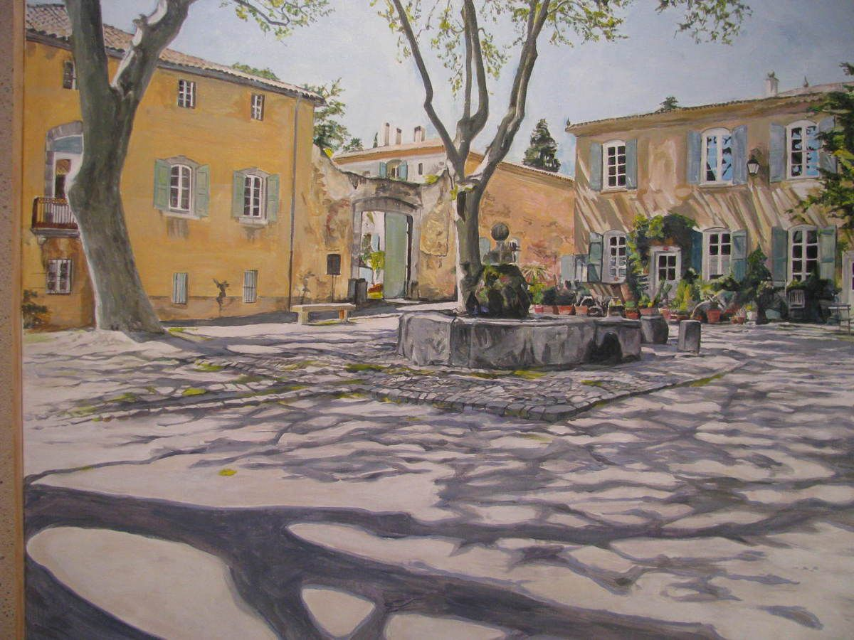 Rencontre de deux artistes originaux à l'Oustàu dou Saleys.