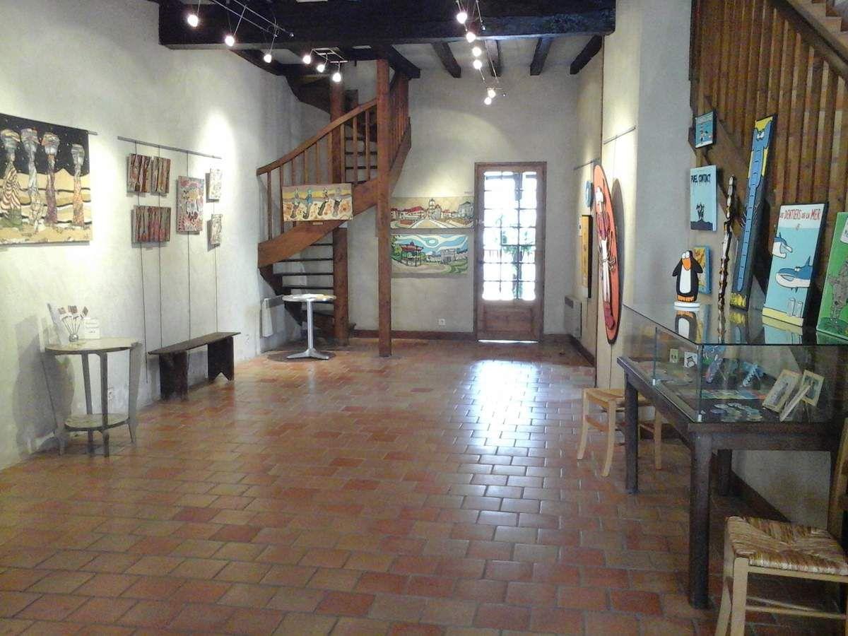 L'Oustàu présente du 12 juin au 25 juin 2017 quatre artistes de la région paloise