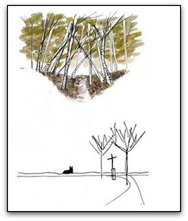 Landscape Study Towards Santiago de Compostela