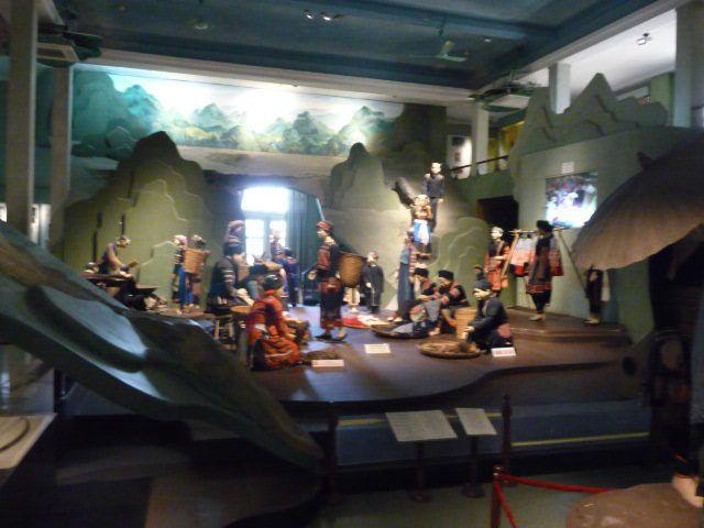 Le MUSEE d' Ethnographie de THAI NGUYEN .