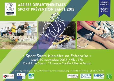 Assises Sport Prévention Santé 2015