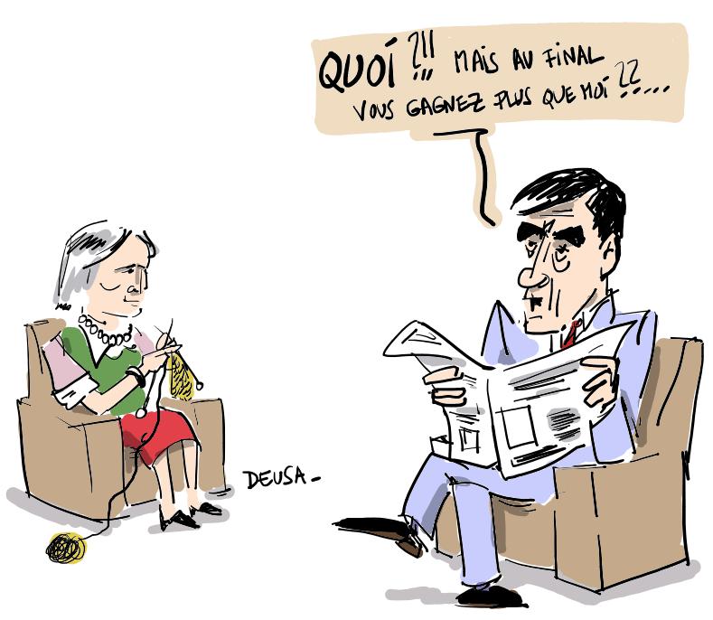 FILLON POUR L'EGALITE SALARIALE