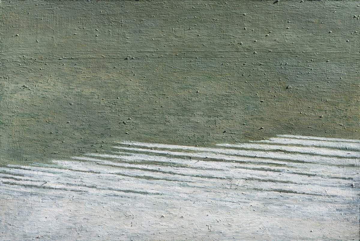 Sans titre, 2010 huile, laque et pigment sur toile 160 x 240 cm