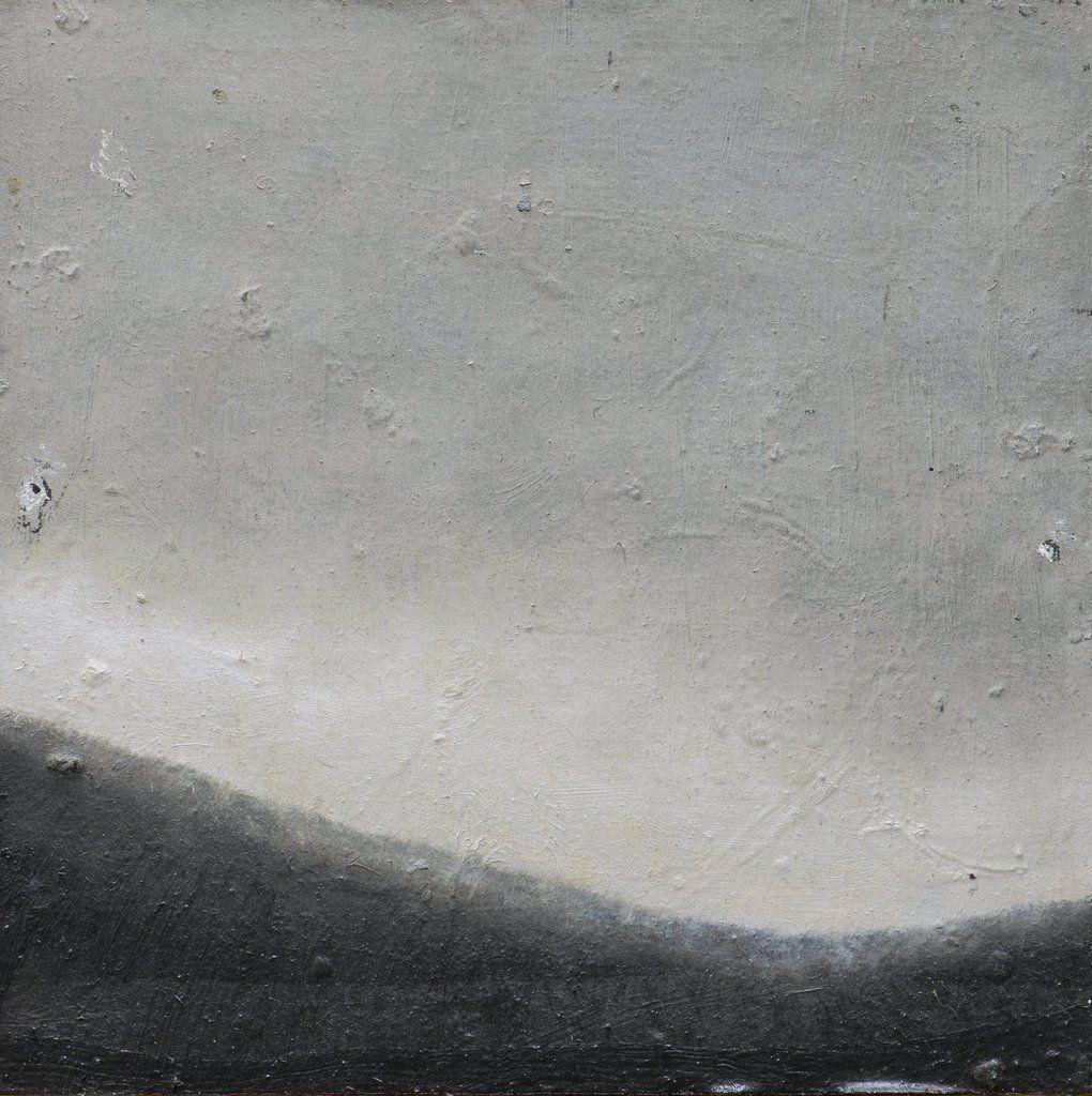Sans titre 2011, huile et laque sur toile contre- collée sur bois 42 x 42 cm