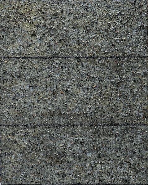 Palissade n° 52 à 62, 2016 huile et poussière sur toile 34 x 20 cm (11)