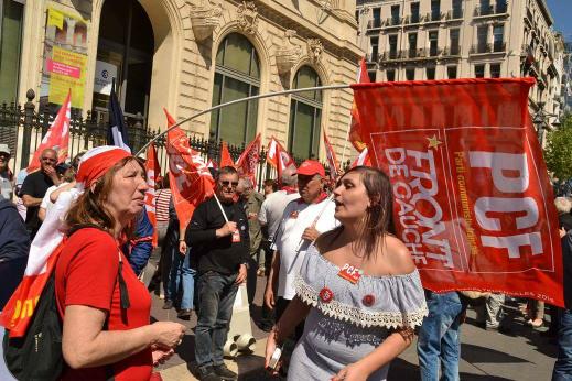 Meeting JL Melenchon à Marseille