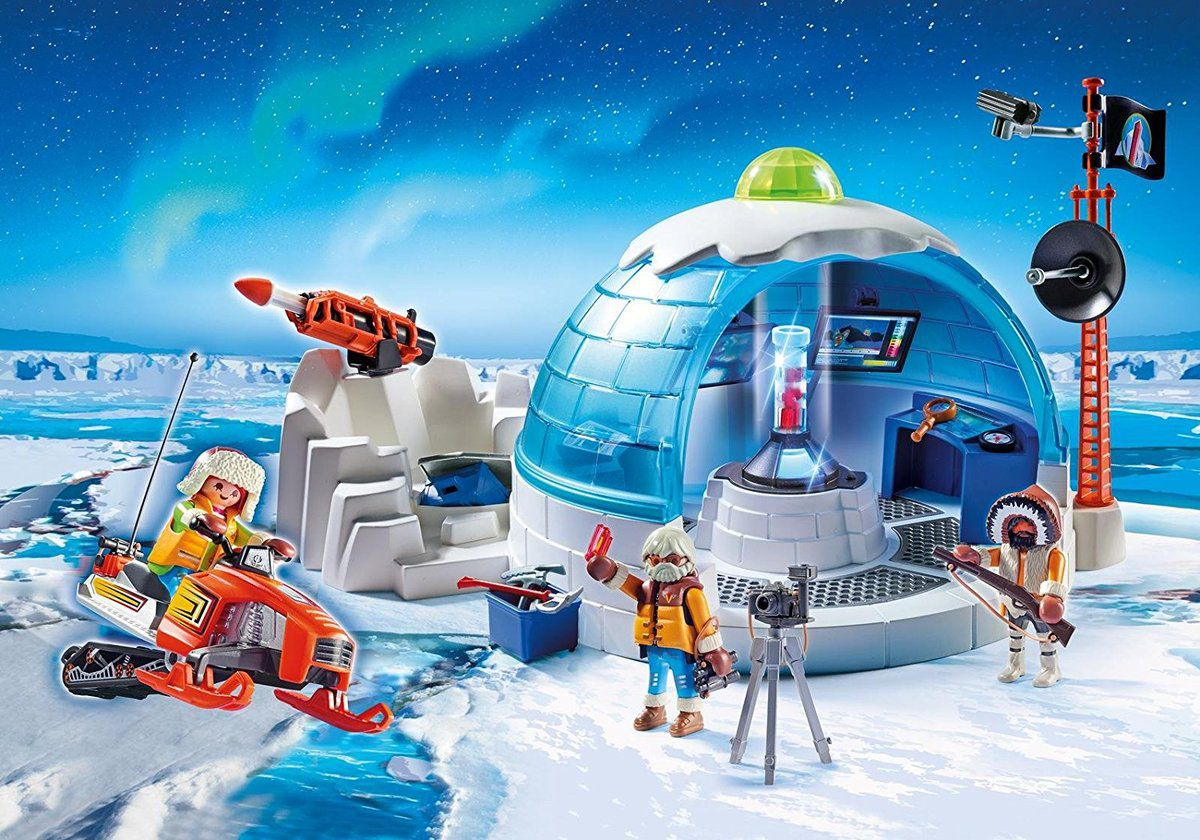 nouveaut s playmobil 2017 igloo tra neau et 4x4 dans la neige 9055 9056 9057 9058 9059 le. Black Bedroom Furniture Sets. Home Design Ideas