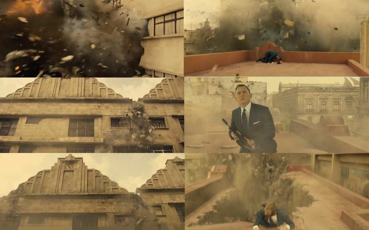 Spectre : When Bond's World Collapses (2800 words)
