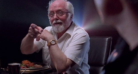 John Hammond is a creator, a godlike figure, but he is self-absorbed and would make the worst father. He underestimates women that which might explain his artificial approach to breeding. Ellie admires him as the authority in terms of procreation she sees in him. He might also be a father figure to her.