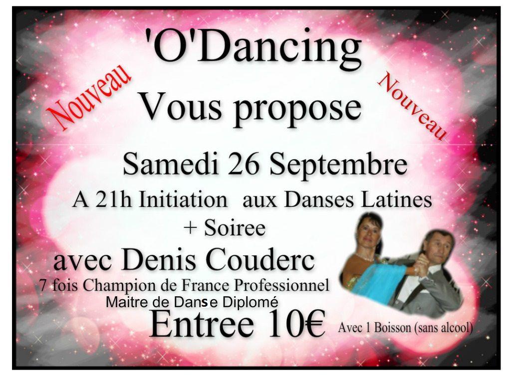 Rendez- vous O DANCING de Paulhan avec Denis aux Platines