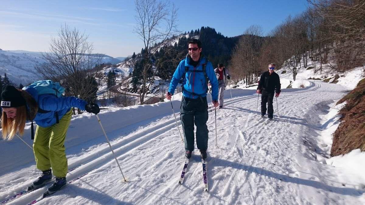 ski de fond  mardi 26 janvier
