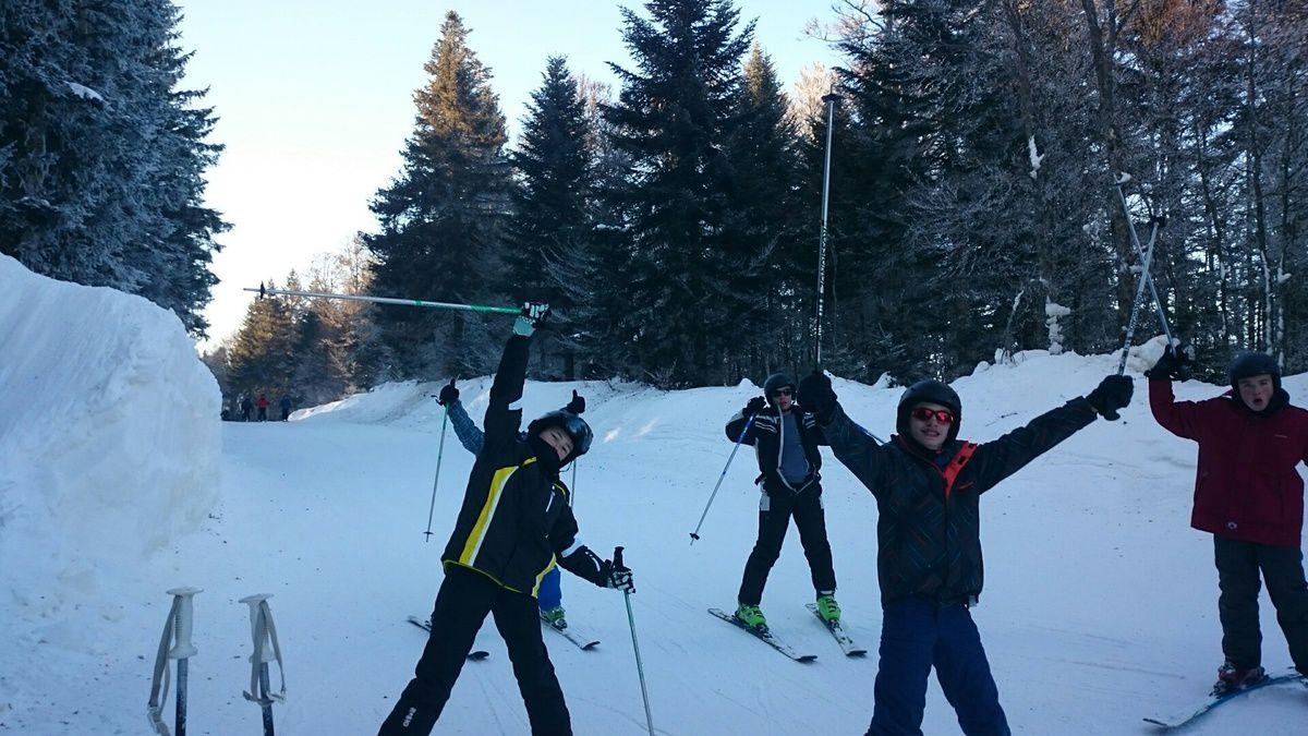 jour 3 : ski alpin à Ventron