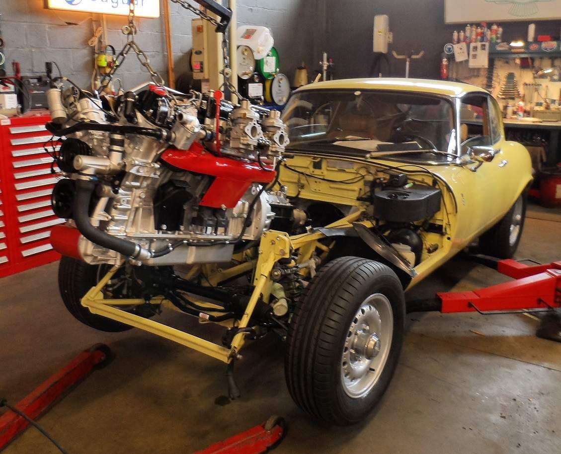 Moteur Jaguar V12