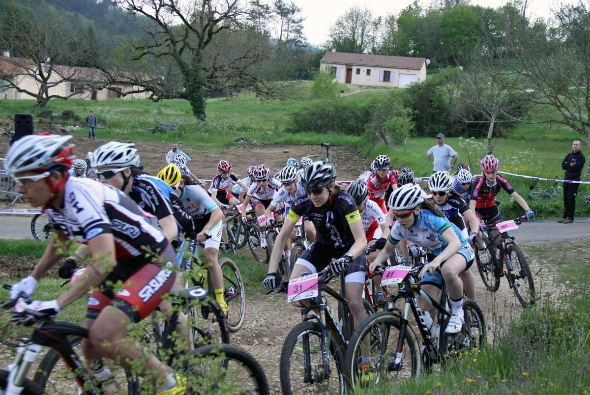 COUPE DE FRANCE XC SAINT POMPON  14/15 et 16 AVRIL 2017