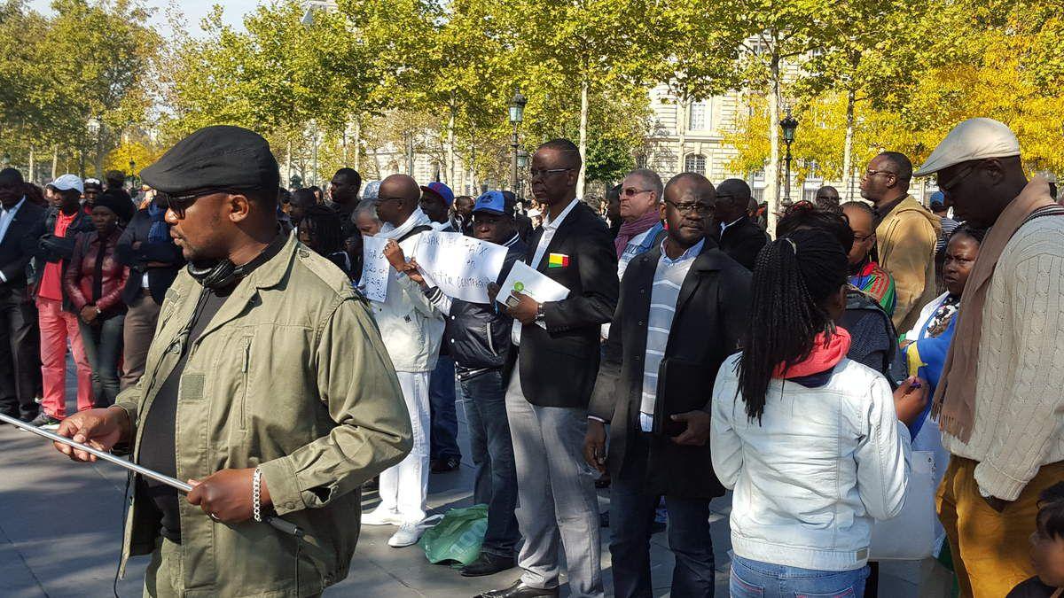 Les images du rassemblement citoyen à Paris