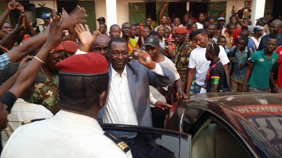 PHOTOS DE LA MOBILISATION AU SIÈGE DU RDC PRISES PAR HERVE SEREFIO