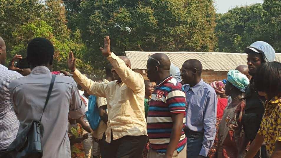 PHOTOS PRISES HIER 04/02/2016 A DAMARA LANCEMENT DE L'OPERATION MABOKO NA MABOKO