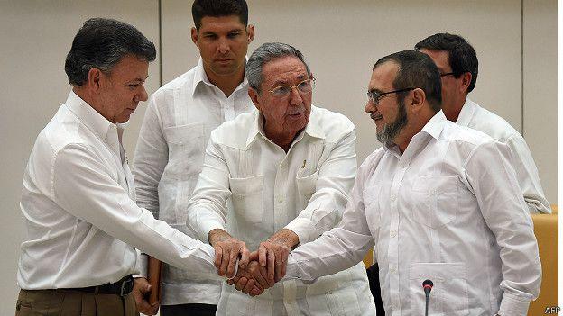 Colombia: adiós a las armas