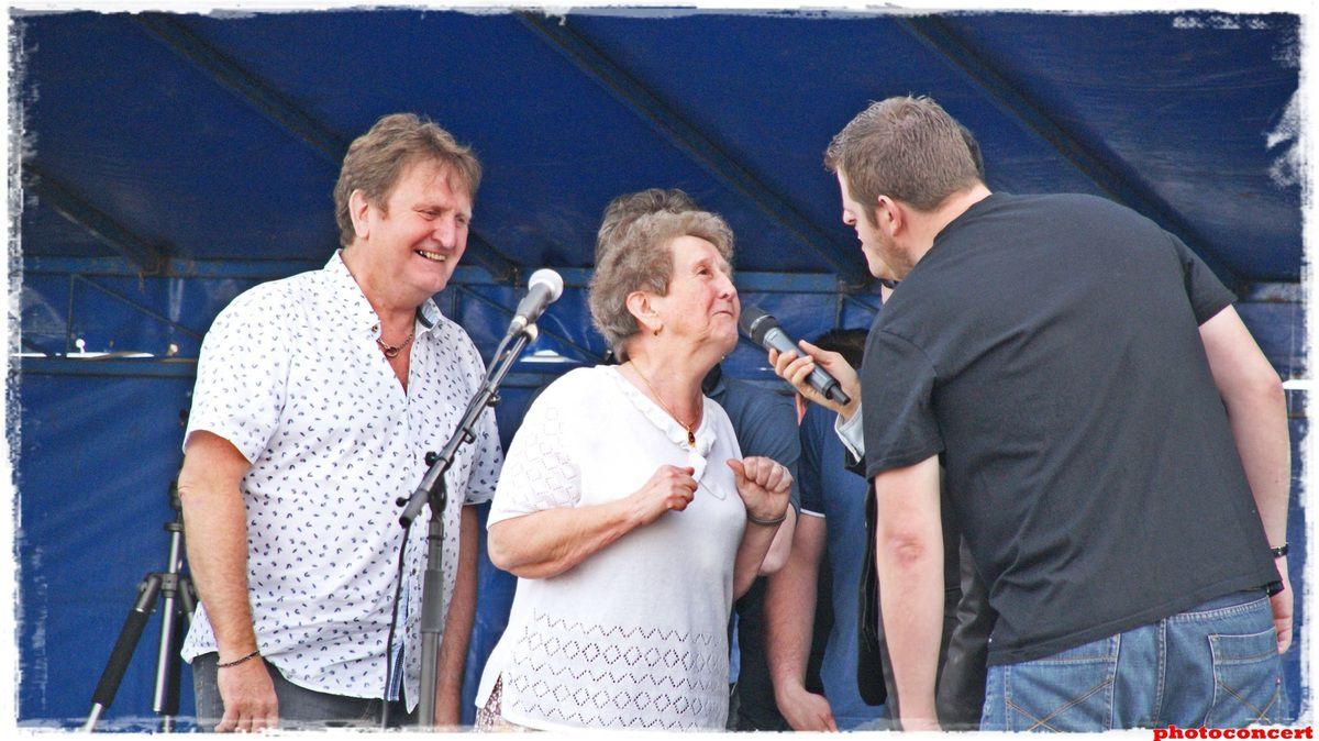 Fab and Jay feat Dan  en concert a marles les mines