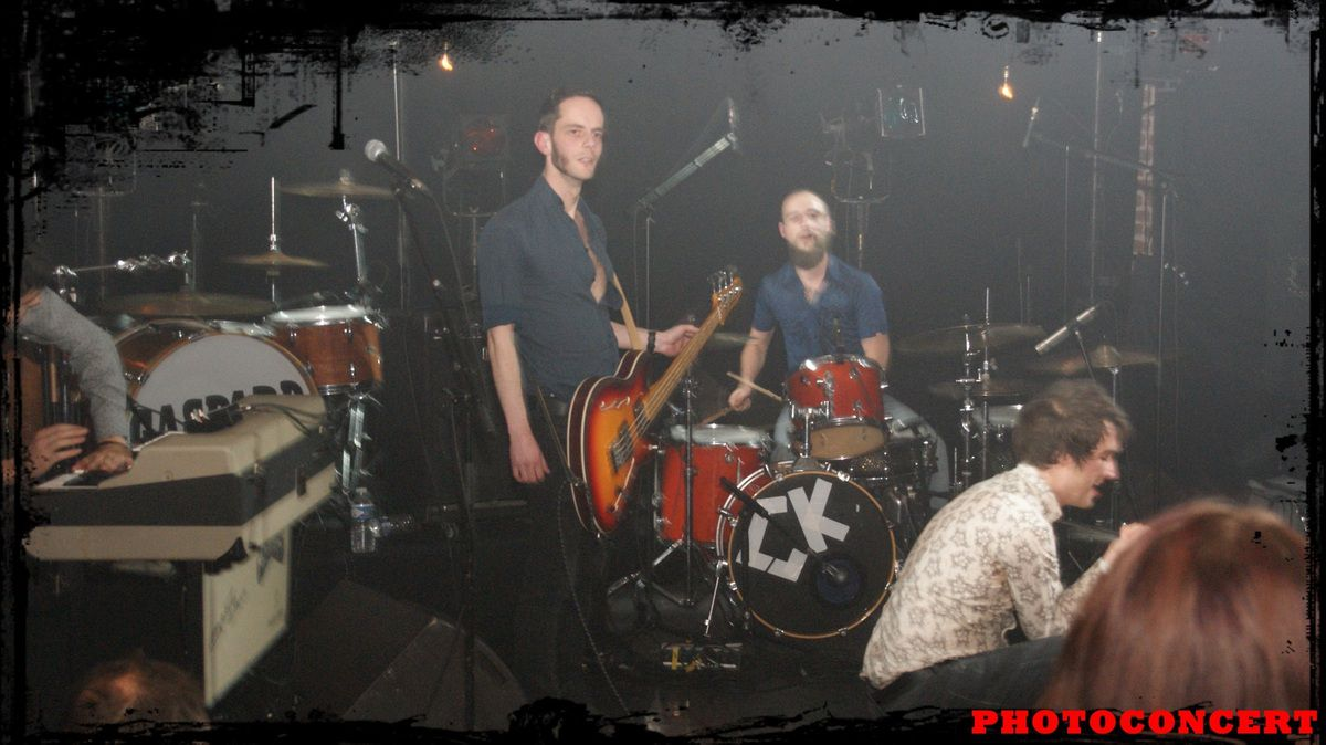 CAYMAN KINGS ,THEO LAWRENCE AND THE HEARTS ,GASPARD ROYANT en concert au poche de bethune