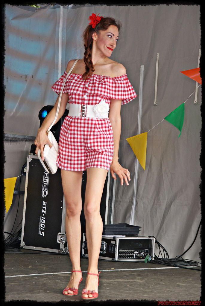 The Rock'n Dolls défilé pin-ups Ça roule à Sailly sur la Lys!!! 2eme partie