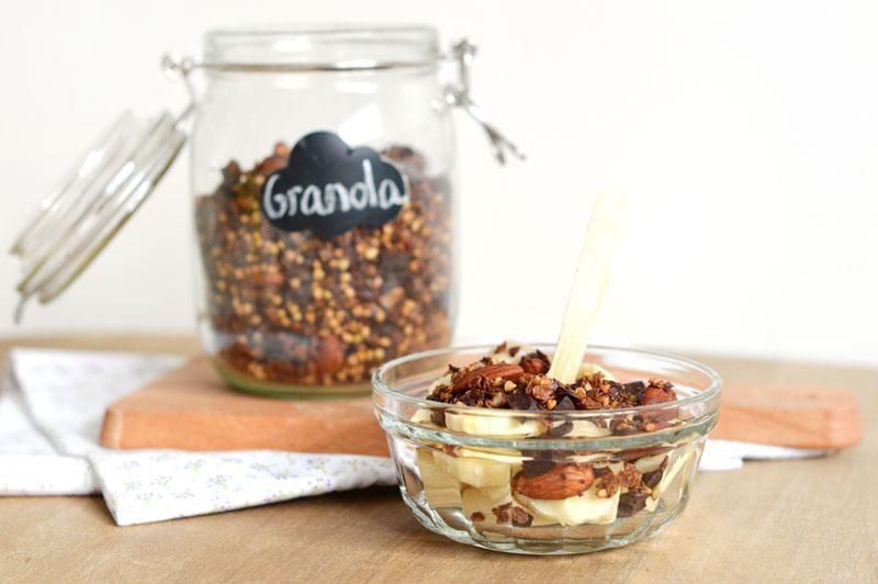 Marie's granola from her Sweet & Sour blog