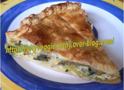 A piece of leek pie - Fruity Veggie Cathy