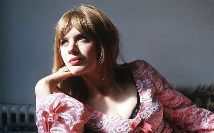 Marianne Faithfull in 1967: it was not until the singer reached her fifties that she was able to enjoy love‑making