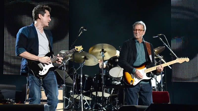 Eric Clapton Celebrates 70th Birthday With All-Star New York Show