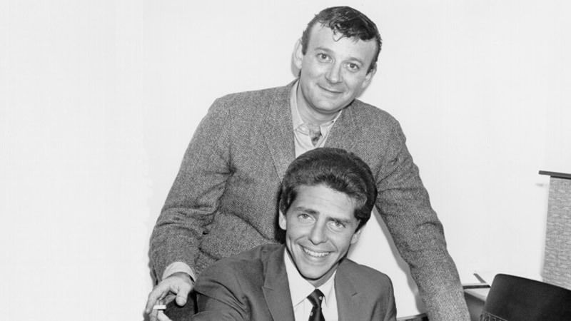 """Bert Berns with """"Hang On Sloopy"""" co-writer Wes Farrell"""