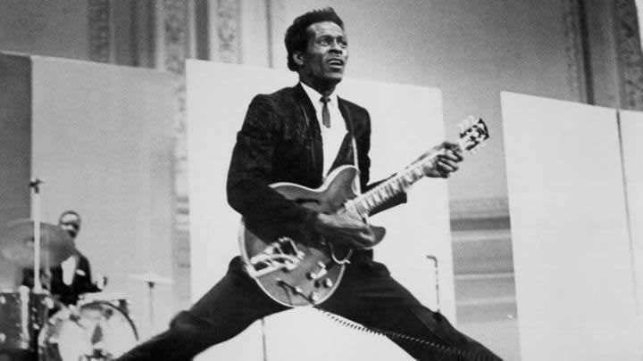 Chuck Berry circa 1968. A massive new box set collects 21 hours of the rock pioneer's recordings