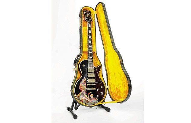 Keith Richards' 1957 Les Paul guitar