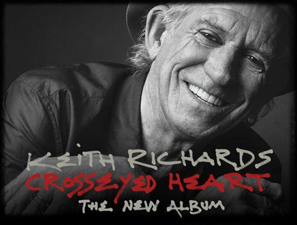 Keith Richards - 'Crosseyed Heart'
