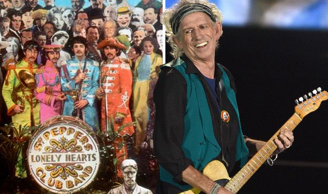Keith Richards calls The Beatles' 'Sgt Pepper's...' album 'a mishmash of rubbish'