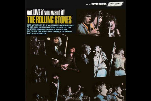 "2. 'Got Live If You Want It!' (1966) : You can barely hear the band over the audience's screams, and the sound is the lowest of fidelity. But if there was ever any doubt that the Stones rivaled the Beatles in popularity in the '60s, this early live album, the group's first, proves it. 'Got Live' includes a frenzied mix of originals (""Under My Thumb"") and covers (""I've Been Loving You Too Long""). A perfect concert document, before the rot set in."