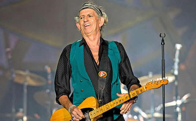 Listen to Keith Richards' single 'Trouble' off his upcoming solo album Crosseyed Heart