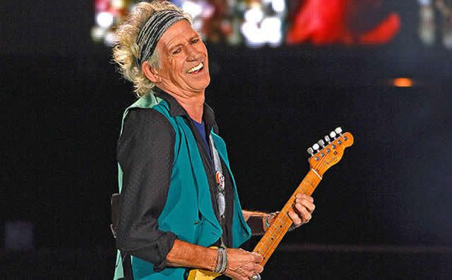 Keith Richards talks solo album, documentary, and trying to
