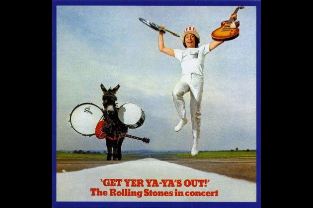 1. 'Get Yer Ya-Ya's Out!' (1970) : The Stones were the best rock 'n' roll band on the planet when they recorded 'Get Yer Ya-Ya's Out!' in 1969. And they were never better onstage. After this, they'd get complacent, lazy, greedy and boring. But here, they're completely on fire, tearing through a lean set that's raw, thrilling, dangerous ... and everything you need to know about the Stones at the end of the '60s. There are better live albums out there, but none captures its era more ideally than 'Get Yer Ya-Ya's Out!'