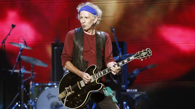Keith Richards revient