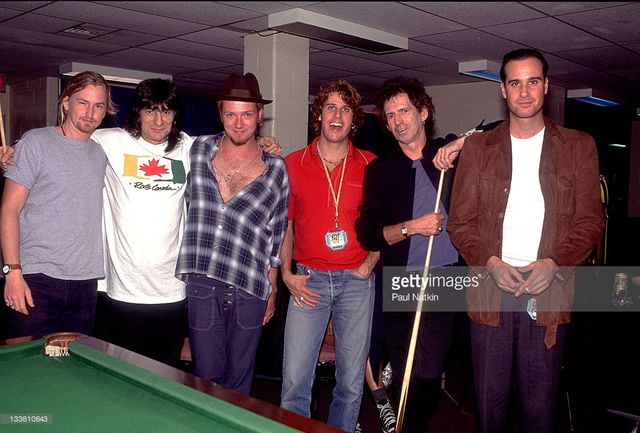 Rare Photo Of Scott Weiland &amp&#x3B; Keith Richards Surfaces