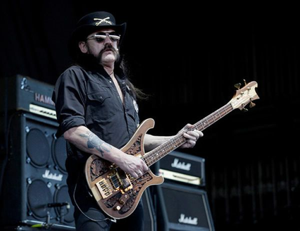 Décès de Lemmy Kilmister, leader du groupe Motörhead