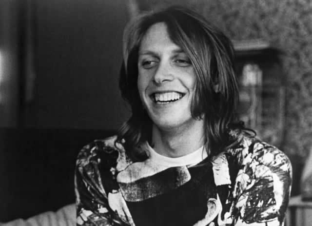 Drummer Joey Covington of the rock 'n' roll band Jefferson Airplane poses for a portrait in 1971