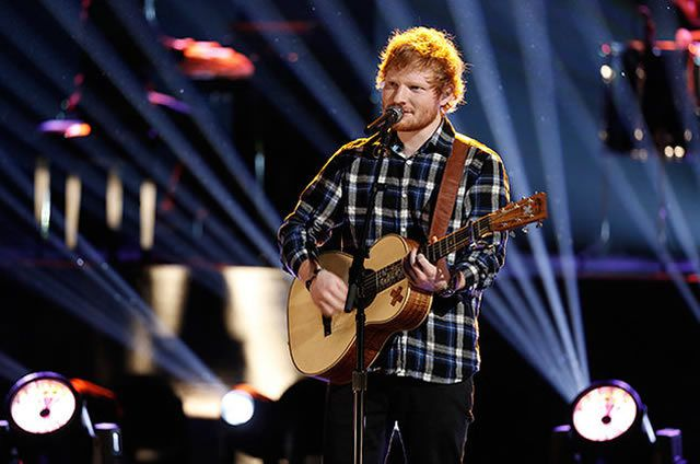 "Ed Sheeran on The Voice ""Live Finale"""