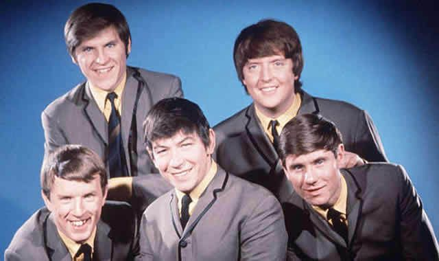 The Animals: John Steel, Alan Price, Chas Chandler, Hilton Valentine and Eric Burdon (centre)