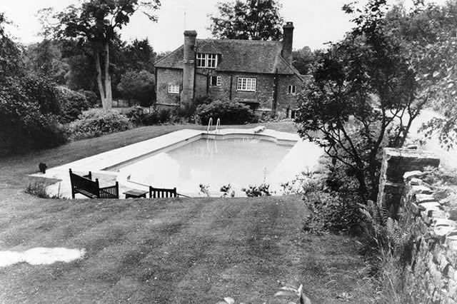 Brian Jones drowned in his farmhouse swimming pool in Hartfield, Sussex