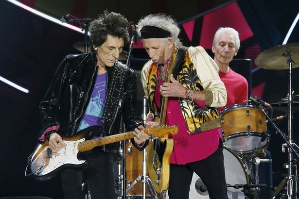 Still going strong: The Stones are touring South America
